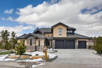 Castle Rock CO Single Family Home Active: $1,550,000
