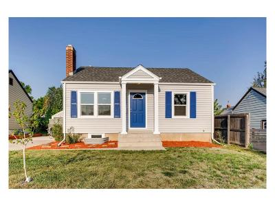Englewood Single Family Home Active: 4131 South Elati Street