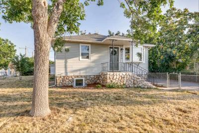 Commerce City Single Family Home Under Contract: 6310 East 64th Avenue