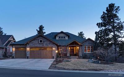 Castle Rock CO Single Family Home Active: $1,279,000