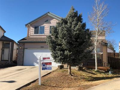 Single Family Home Sold: 2891 South Salida Court