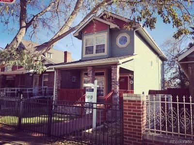 Single Family Home Active: 3932 Tejon Street