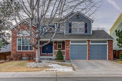 Highlands Ranch Single Family Home Under Contract: 1704 Spring Water Place