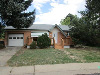 Northglenn Single Family Home Active: 11104 Clarkson Street