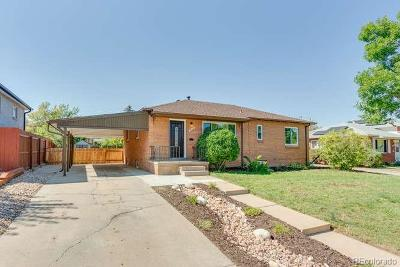 Denver Single Family Home Active: 2073 South Wolcott Court