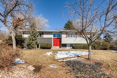 Golden Single Family Home Under Contract: 1710 Zinnia Street