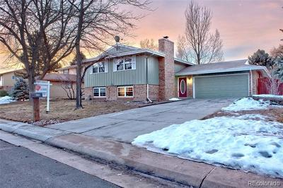 Centennial Single Family Home Active: 1728 East Geddes Circle