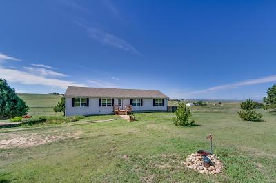 Kiowa CO Single Family Home Under Contract: $429,000