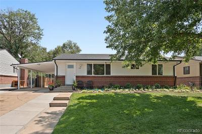Wheat Ridge Single Family Home Active: 4354 Hoyt Street