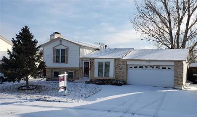Thornton Single Family Home Under Contract: 4486 East 93rd Place