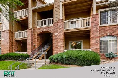 Littleton Condo/Townhouse Active: 1672 West Canal Circle #412