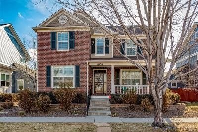 Denver Single Family Home Under Contract: 8598 East 25th Drive