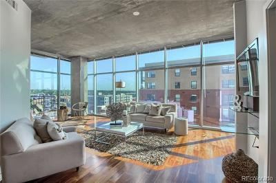 Denver Condo/Townhouse Active: 1700 Bassett Street #1013