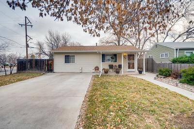 Denver Single Family Home Under Contract: 2100 South Hooker Way