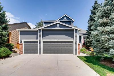 Highlands Ranch Single Family Home Under Contract: 145 Estack Place