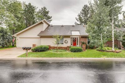 Boulder Single Family Home Under Contract: 7103 Cedarwood Circle
