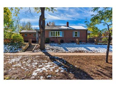Denver Single Family Home Under Contract: 3150 West 46th Avenue