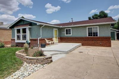 Commerce City Single Family Home Under Contract: 6640 Oneida Street