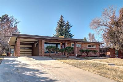 Westminster Single Family Home Active: 3648 Shaw Boulevard