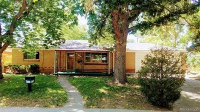 Aurora Single Family Home Under Contract: 2231 Lansing Street