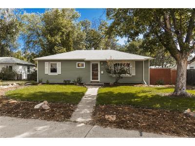 Longmont Single Family Home Under Contract: 1112 Venice Street