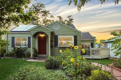 Denver Single Family Home Active: 2525 South Washington Street
