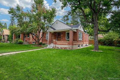 Denver Single Family Home Active: 1658 South Downing Street
