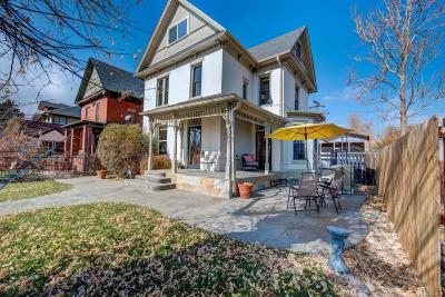 Denver Single Family Home Active: 2719 West 32nd Avenue