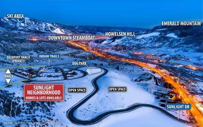 Steamboat Springs Residential Lots & Land Active: Indian Trails