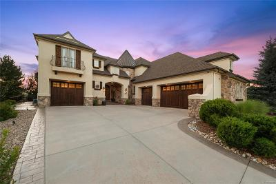 Castle Pines Single Family Home Under Contract: 1295 Buffalo Ridge Road