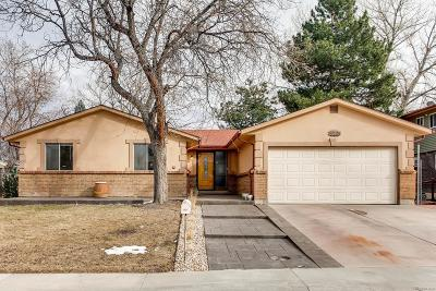 Littleton Single Family Home Active: 4448 South Carr Court