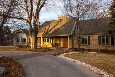 Greenwood Village Single Family Home Active: 17 East Belleview Lane