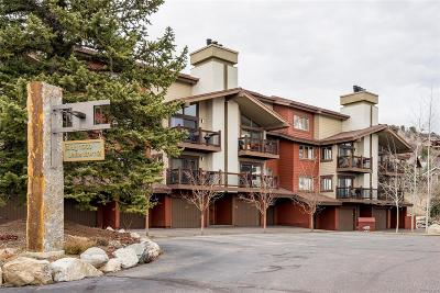 Steamboat Springs CO Condo/Townhouse Active: $375,000