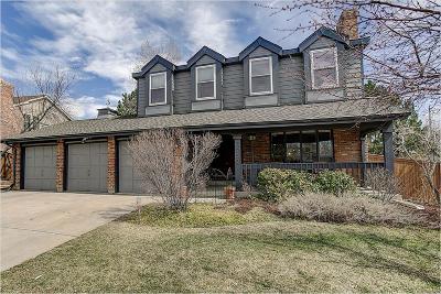 Centennial Single Family Home Under Contract: 5750 South Olathe Court