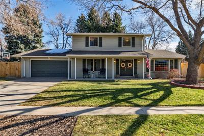 Lakewood Single Family Home Under Contract: 2530 South Chase Lane
