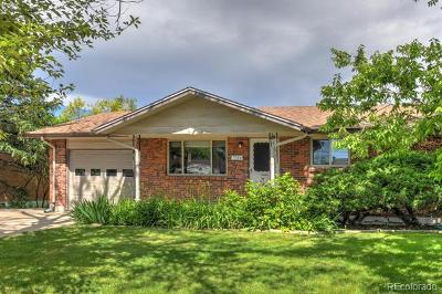 Arvada Single Family Home Active: 7725 Marshall Street