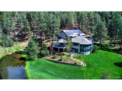 Evergreen, Arvada, Golden Single Family Home Active: 2674 Cold Springs Gulch Road
