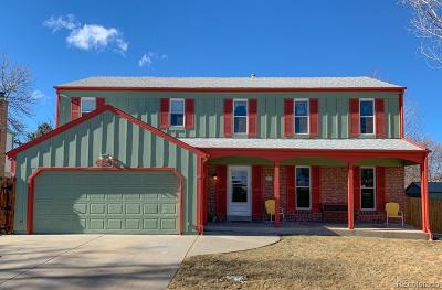 Morrison Single Family Home Sold: 4697 South Urban Way
