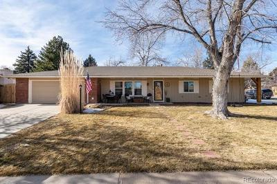 Littleton Single Family Home Under Contract: 7201 South Sheridan Court