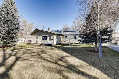 Boulder County Single Family Home Active: 760 Martin Street