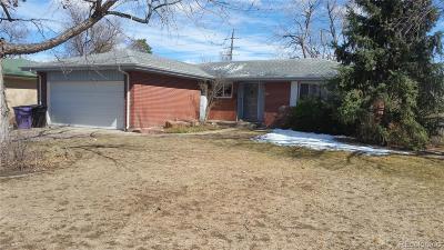 Denver Single Family Home Active: 880 South Hudson Street