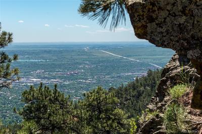 Boulder Residential Lots & Land Active: 1039 Timber Lane