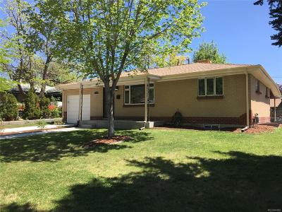 Westminster Single Family Home Under Contract: 7870 Irving Street