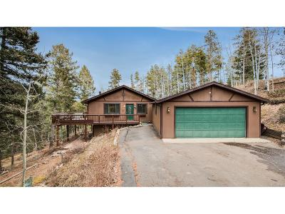 Conifer Single Family Home Under Contract: 19151 Copper Spur