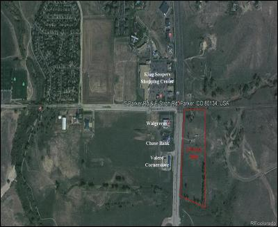 Parker CO Residential Lots & Land Under Contract: $2,000,000