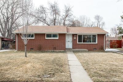 Arvada Single Family Home Under Contract: 6107 Estes Court