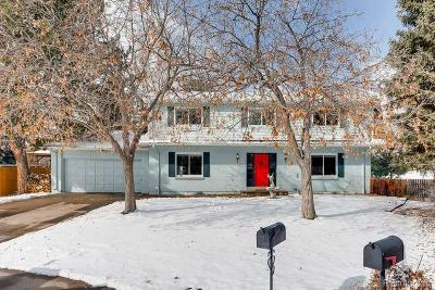 Littleton Single Family Home Under Contract: 7555 South Teller Court