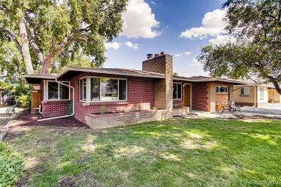 Lakewood Single Family Home Active: 1370 North Upham Street
