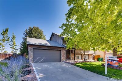 Littleton Single Family Home Active: 11255 West Bowles Place