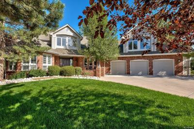 Highlands Ranch Single Family Home Under Contract: 57 Falcon Hills Drive